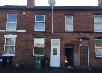 Thumbnail 3 bed terraced house to rent in Checketts Street, Walsall, West Midlands