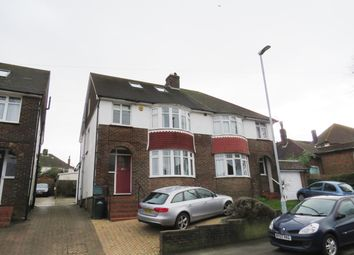 Thumbnail 4 bed property to rent in Poplar Avenue, Hove