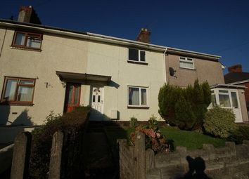 Thumbnail 2 bedroom terraced house for sale in Merlin Crescent, Townhill, Swansea
