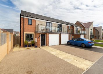 Thumbnail 3 bed semi-detached house for sale in Elmwood Park Grove, Great Park, Newcastle Upon Tyne