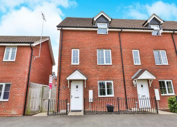 Thumbnail 4 bed town house for sale in Fairway, Costessey, Norwich