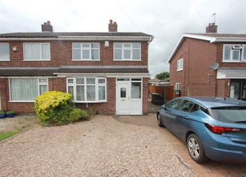 Thumbnail 3 bed semi-detached house to rent in Lochmore Close, Hinckley