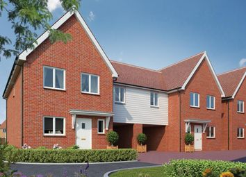 Thumbnail 4 bedroom semi-detached house for sale in Canalside View, Broughton, Aylesbury