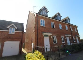 Thumbnail 3 bed end terrace house for sale in The Meadows, Old Stratford