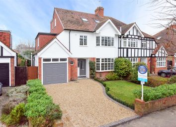 Thumbnail 5 bed semi-detached house to rent in Beauchamp Road, East Molesey