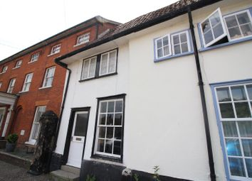 Thumbnail 2 bed terraced house to rent in Market Place, New Buckenham, Norwich