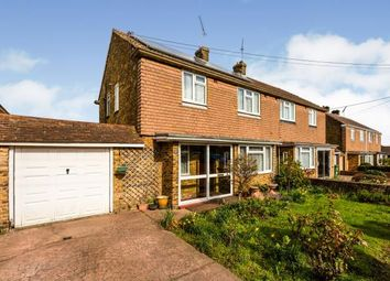 Thumbnail 3 bed semi-detached house for sale in Woodlands Rise, Swanley, Kent