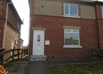 Thumbnail 2 bed semi-detached house to rent in Green Crescent, Dudley, Cramlington