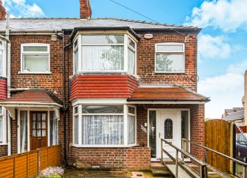 Thumbnail 3 bedroom end terrace house for sale in Southcoates Lane, Hull