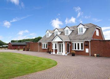 Thumbnail 5 bedroom detached house for sale in Winwick Lane, Warrington