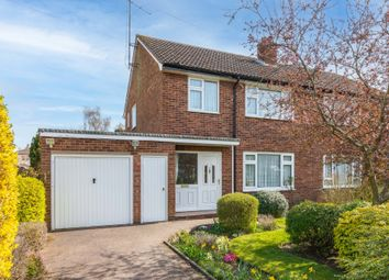 Thumbnail 3 bed semi-detached house for sale in Alexander Road, Stotfold, Herts