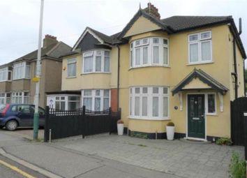 Thumbnail 3 bed semi-detached house to rent in Wennington Road, Rainham, Essex