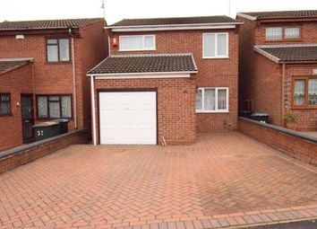Thumbnail 3 bed detached house for sale in Hemingford Road, Walsgrave, Coventry