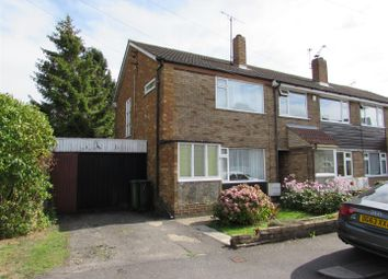 Thumbnail 2 bed end terrace house for sale in Rosewood Close, Luton