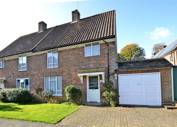Thumbnail 3 bed semi-detached house for sale in Chalk Pit Road, Banstead, Surrey