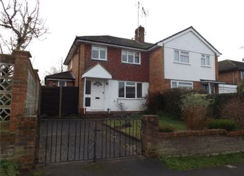 Thumbnail 2 bed semi-detached house to rent in Jerome Road, Woodley, Reading, Berkshire