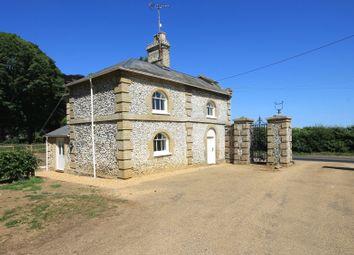 Thumbnail Cottage to rent in East View, Raynham Road, Hempton, Fakenham