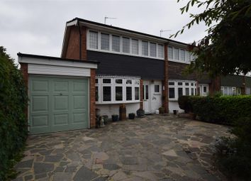 Thumbnail 3 bed semi-detached house for sale in Fauna Close, Chadwell Heath, Romford