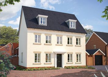 "Thumbnail 5 bed detached house for sale in ""The Warwick"" at Beverley Grove, Bedford"