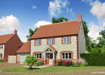 Thumbnail 4 bed detached house for sale in Sculthorpe Road, Fakenham