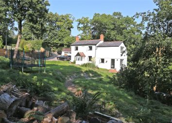Thumbnail 4 bed detached house for sale in Bat & Ball Lane, Wrecclesham, Farnham, Surrey