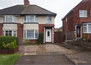 Thumbnail 3 bed semi-detached house for sale in Hurst Road, Smethwick