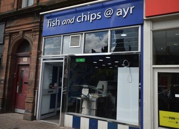 Thumbnail Restaurant/cafe for sale in Smith Street, Ayr, South Ayrshire