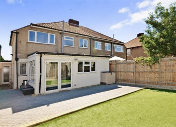 Thumbnail 3 bedroom semi-detached house for sale in Coronation Close, Bexley, Kent