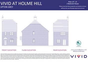 Vivid @ Holme Hill, Upton Grey, Basingstoke RG25. 2 bed property for sale