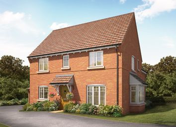 "Thumbnail 4 bedroom detached house for sale in ""The Hawthorn"" at Knightley Road, Gnosall, Stafford"