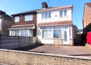 Thumbnail 3 bed semi-detached house to rent in Millfields Road, Bilston