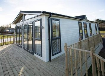 Thumbnail 3 bed lodge for sale in Carnoustie Court, Tydd St Giles, Wisbech