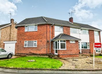 Thumbnail 4 bed semi-detached house for sale in Winslow Drive, Wigston