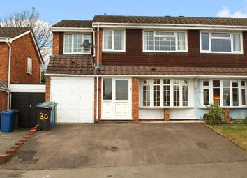 Thumbnail 4 bed semi-detached house for sale in Cobia, Two Gates, Tamworth