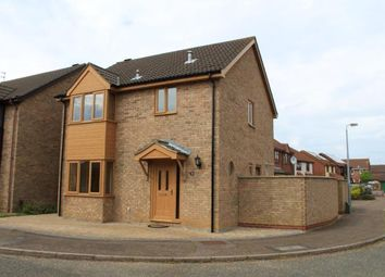 Thumbnail 3 bed detached house for sale in Bradwell, Great Yarmouth, Norfolk