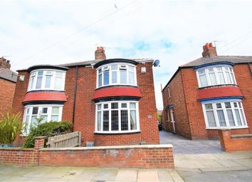 Thumbnail 3 bed semi-detached house for sale in Marion Avenue, Middlesbrough