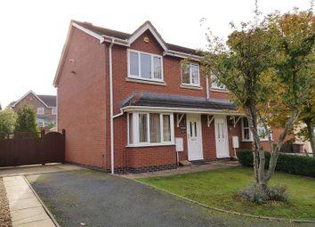 Thumbnail 3 bedroom semi-detached house to rent in Woodside Road, Ketley, Telford