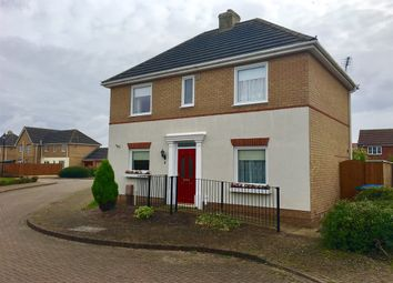 Thumbnail 3 bed detached house for sale in Mentmore Gardens, Wyberton Fen, Boston
