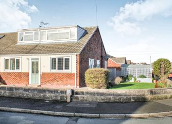Thumbnail 3 bed semi-detached bungalow for sale in Kempton Avenue, Crewe