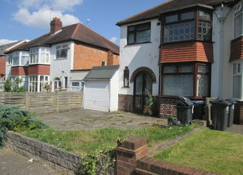 Thumbnail 3 bed semi-detached house to rent in Bibury Road, Hall Green, Birmingham