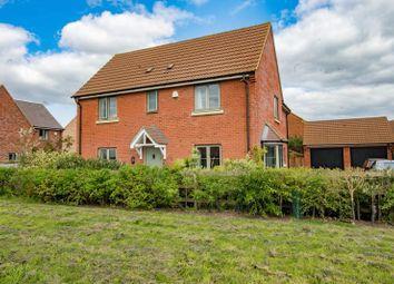 Thumbnail 4 bedroom detached house for sale in Penning Close, Oakridge Park, Milton Keynes