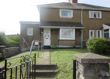 Thumbnail 2 bed semi-detached house to rent in Robert Owen Gardens, Port Tennant, Swansea.