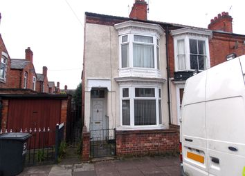 Thumbnail 3 bedroom end terrace house for sale in Barclay Street, Leicester