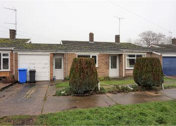 Thumbnail 3 bedroom terraced bungalow for sale in Mill Lane, Beccles