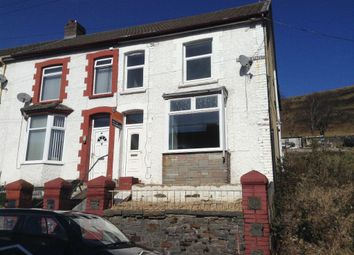 Thumbnail 3 bed end terrace house to rent in Pergwm Street, Trealaw