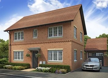 "Thumbnail 3 bed detached house for sale in ""The Clayton"" at West Cross Lane, Mountsorrel, Loughborough"