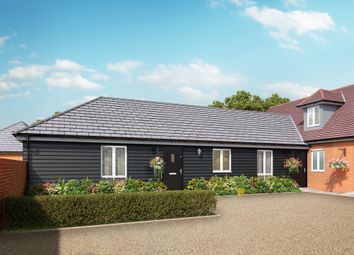 Thumbnail 2 bed semi-detached bungalow for sale in School Lane, Broughton, Hampshire
