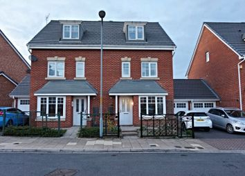 Thumbnail 4 bed semi-detached house for sale in Orkney Way, Thornaby, Stockton-On-Tees