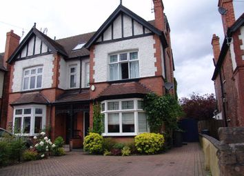 Thumbnail 4 bedroom semi-detached house to rent in Davies Road, West Bridgford, Nottingham