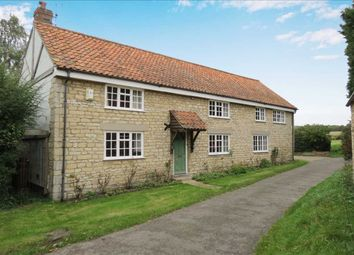 Thumbnail 4 bed detached house for sale in North Street, Osbournby, Sleaford